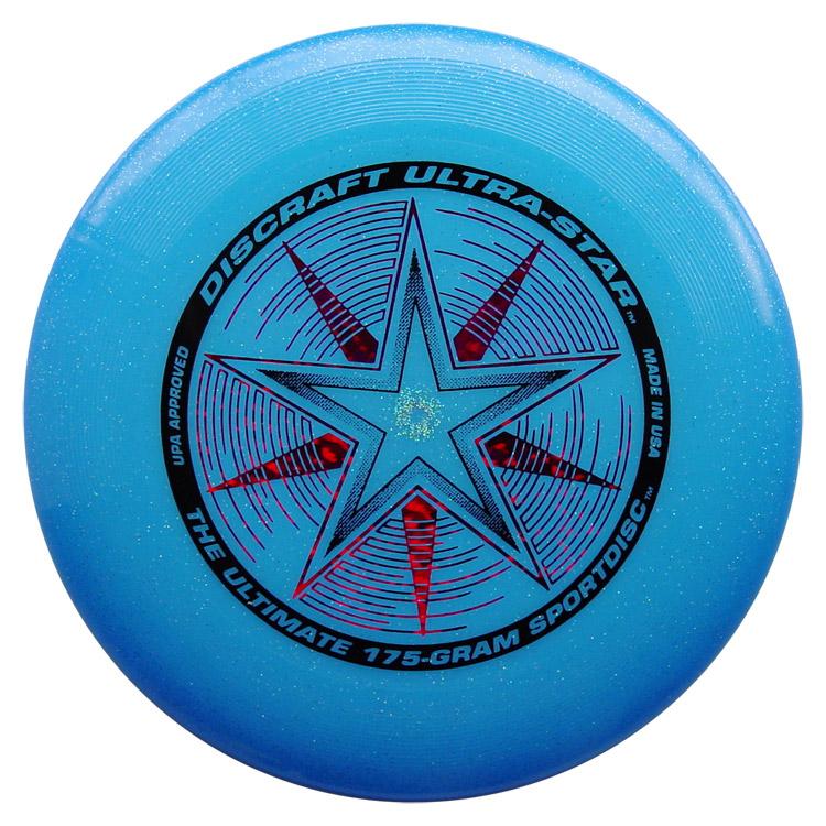 Discraft Ultra Star 175g Ultimate Frisbee Starburst white